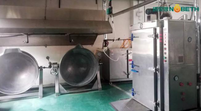 速冻食品加工蒸汽发生器