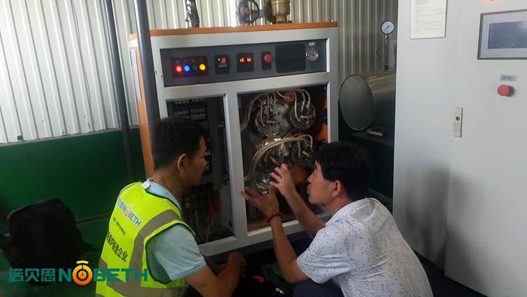 山东生物制药企业电加热蒸汽发生器应用案例