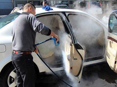 蒸汽洗车机洗车不仅便捷又高效,还能消毒杀菌守护家人健康