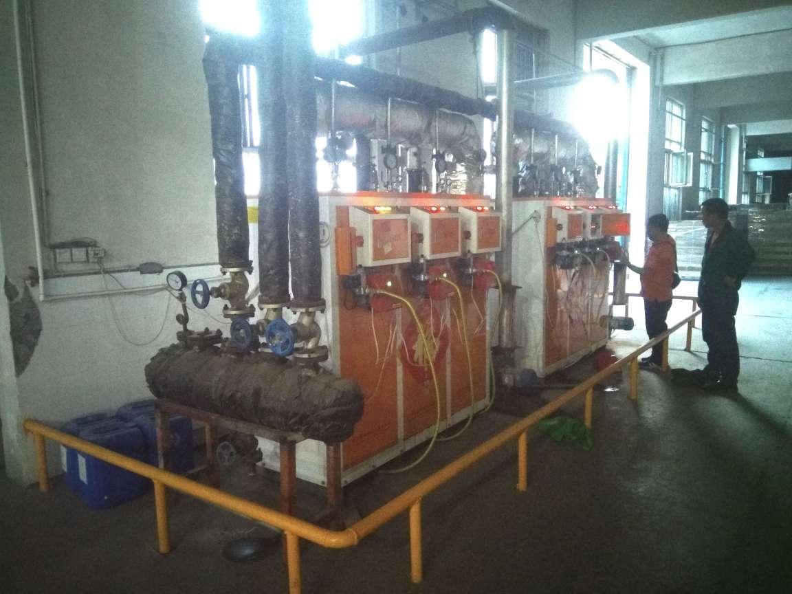 蒸汽稳定温度精准,瓦楞纸烘干生产使用燃气蒸汽发生器高效生产省心省力