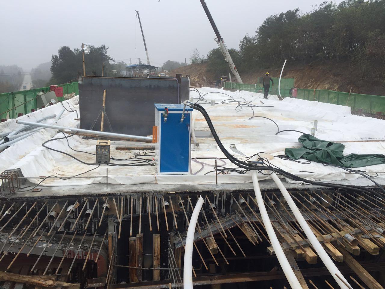 混凝土工程如何开源节流?电加热混凝土养护蒸汽发生器智能又节能