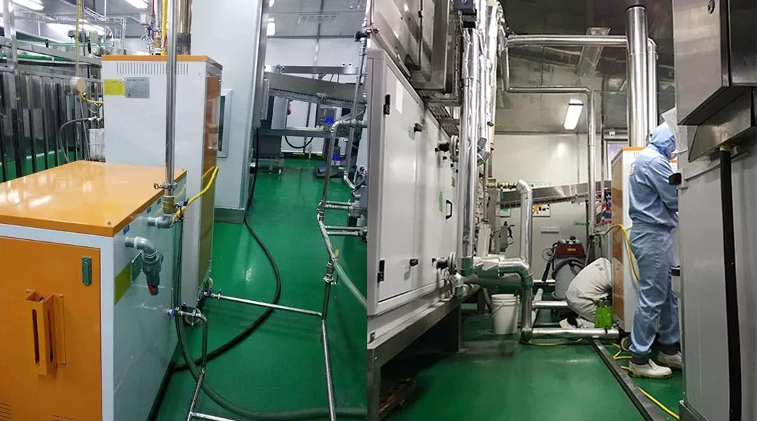 做好发酵温度管理,面包发酵使用湖北食品加工电蒸汽发生器
