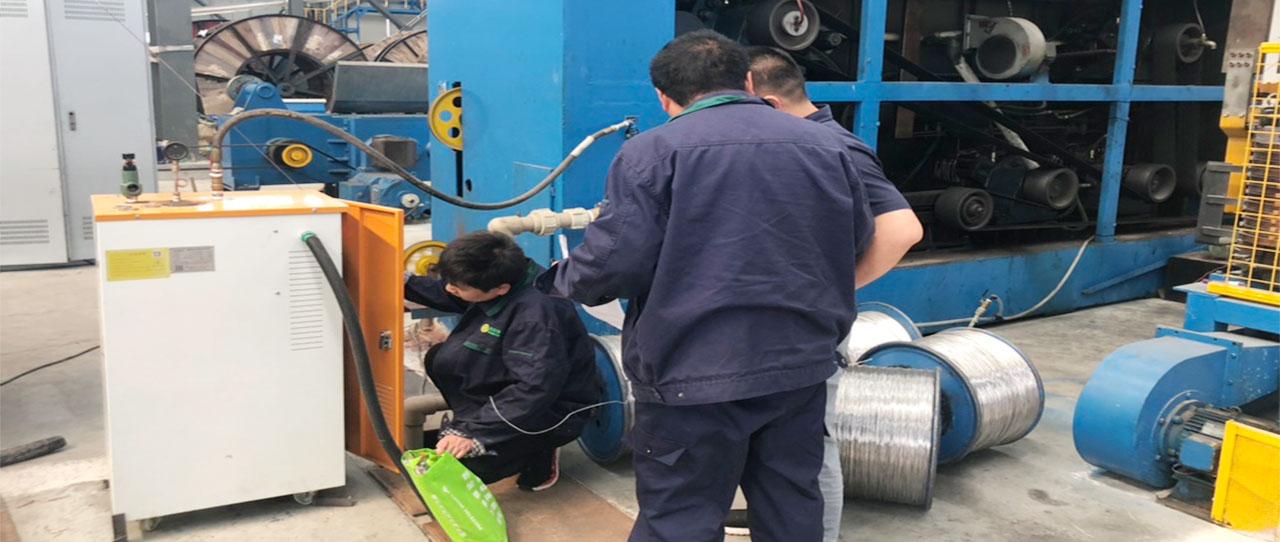 湖北电缆公司恒定96℃蒸汽热能解决方案