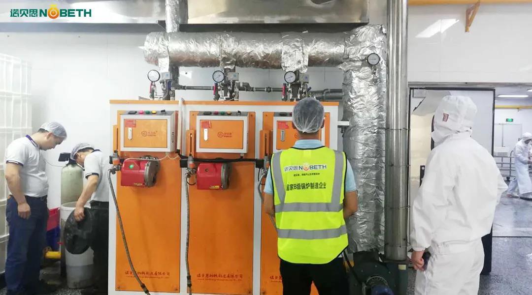 现代化食堂使用河南洁净蒸汽发生器,洁净蒸汽保证饮食安全