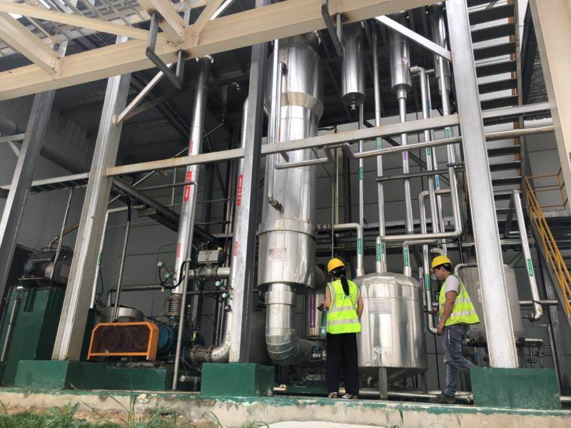 工业污水合格排放使用电加热蒸汽发生器进行高效污水处理