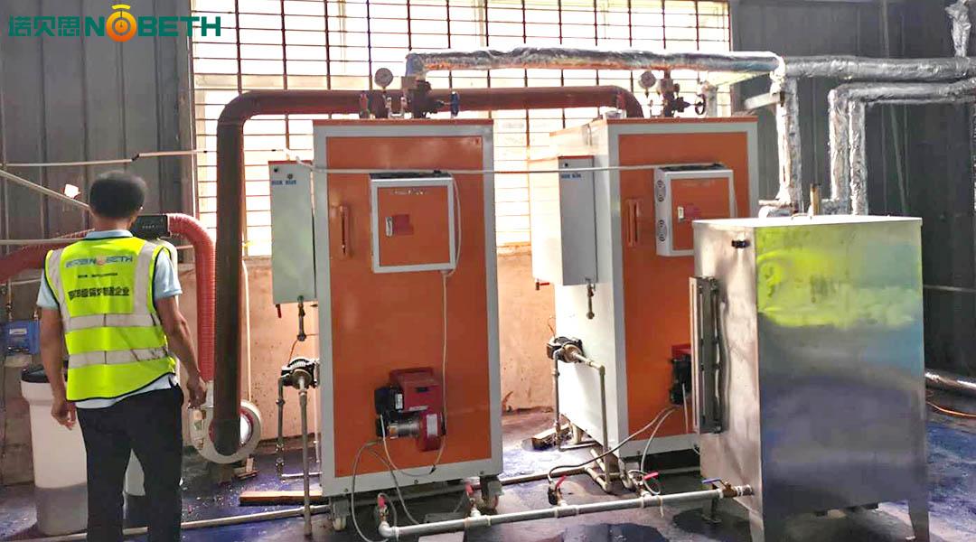 洗涤中心辅助洗衣设备的燃气蒸汽发生器如何选择?