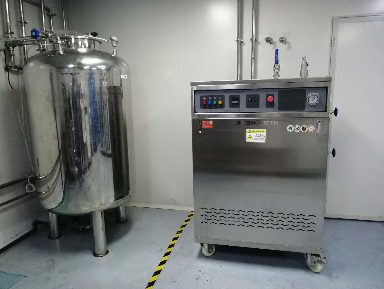 生物制药使用江苏洁净蒸汽电蒸汽发生器精准温度管理洁净生产