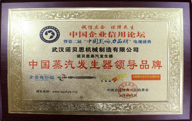 中国蒸汽发生器品牌诺贝思