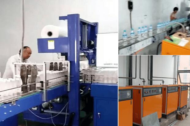 河南缩标机厂采用诺贝思蒸汽发生器生产提效3倍