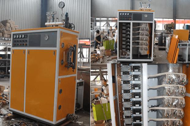 四川遂宁蒸汽发生器客户购买的NBS-AH510KW大型蒸汽发生器