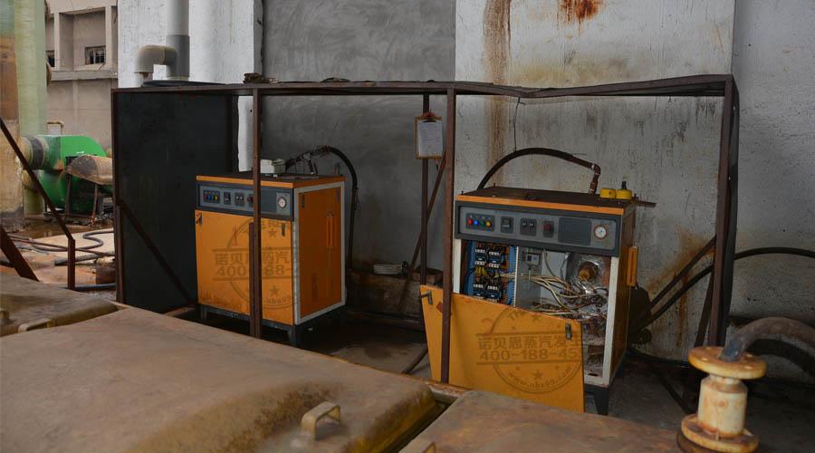 诺贝思蒸汽发生器厂家售后流动车驶进湖北炼钢厂