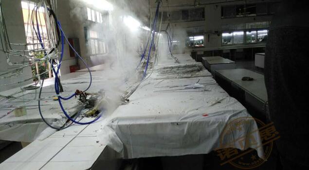 诺贝思量身定制服装厂用蒸汽发生器解决方案