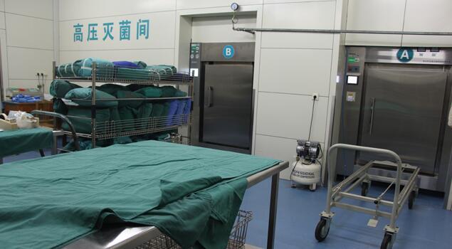 山东总医院采购诺贝思蒸汽发生器用于消毒中心