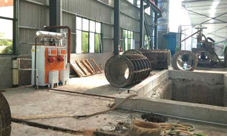 钢材清洗蒸汽发生器安徽应流集团使用案例