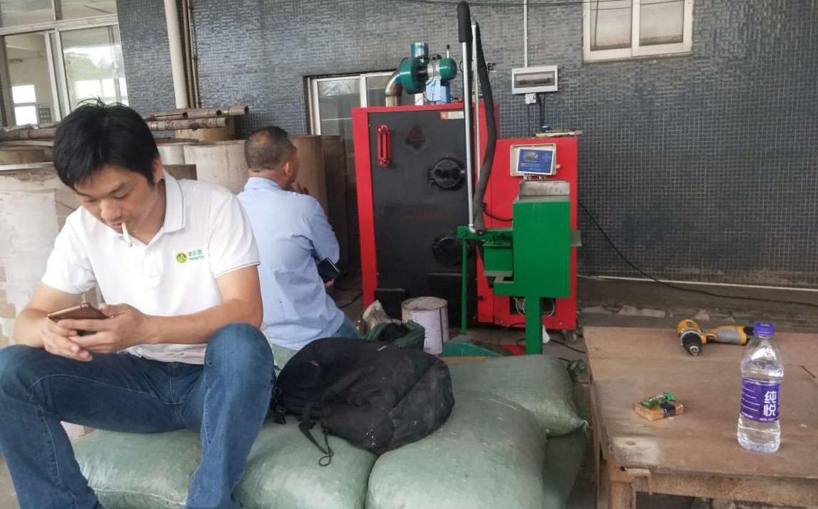 高温定型蒸汽发生器装饰材料公司使用案例