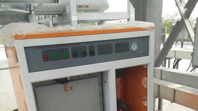 防爆蒸汽发生器石油公司油罐车清洗案例