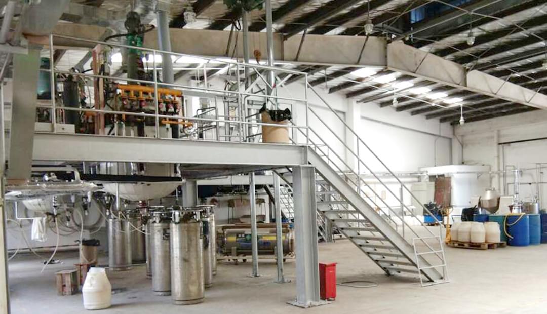 蒸汽发生器用于化工制胶案例