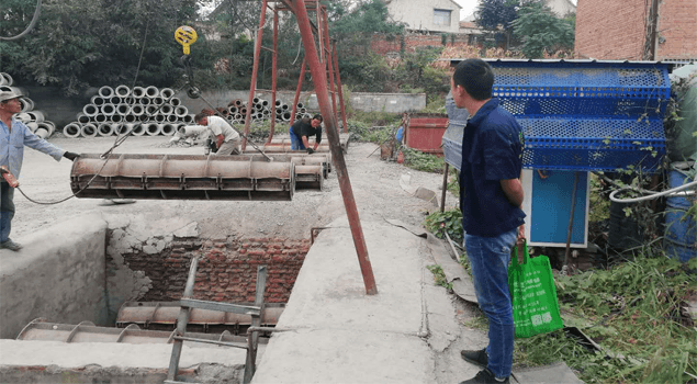 山西晋城张坤水泥构件厂使用CH48kw混凝土养护蒸汽发生器案例