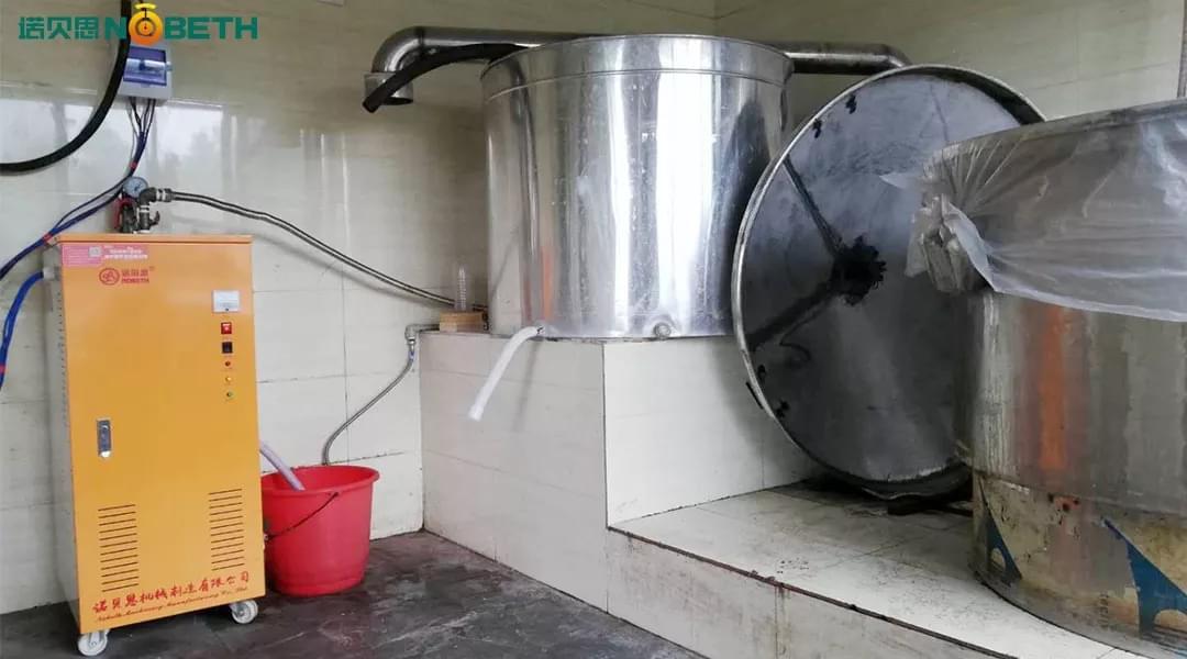 醉仙新民宿采购酿酒蒸汽发生器用于酿酒工艺