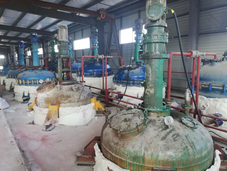 蒸汽发生器配套反应釜生产彩色跑道颗粒案例