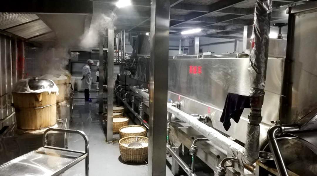 诺贝思燃气蒸汽发生器用于酿制黄酒案例