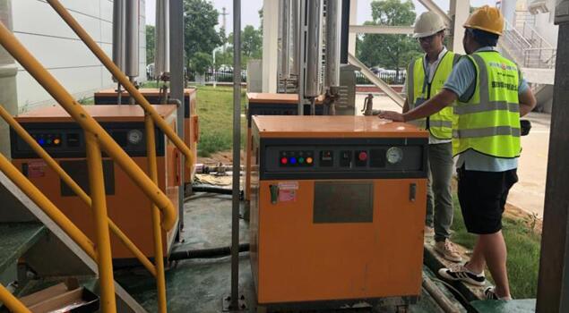 污水处理用蒸汽发生器加热有什么作用?