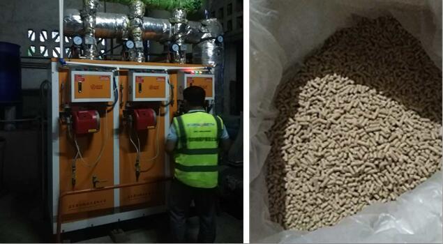 饲料加工专用蒸汽发生器的应用效果