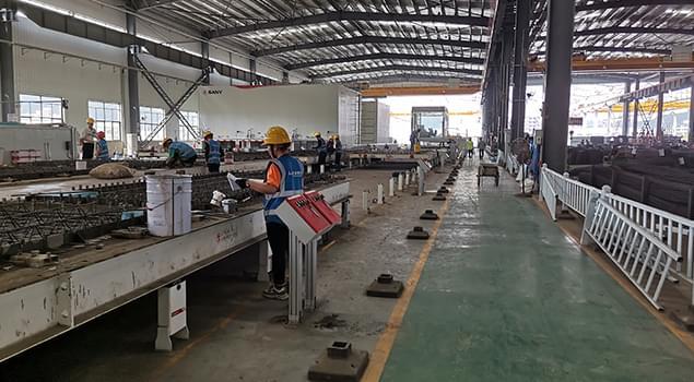 预制场使用福建预制件养护蒸汽发生器快速脱模方案