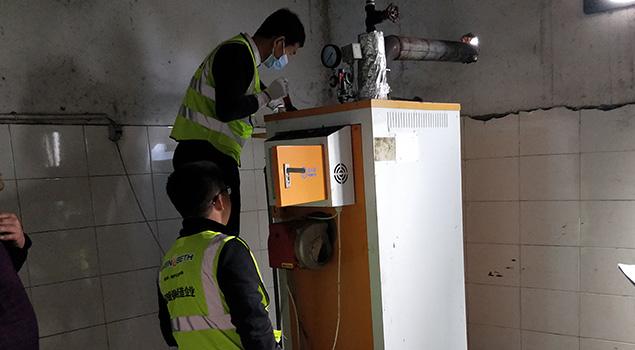 诺贝思燃油蒸汽发生器浓缩蜂蜜,5吨蜂蜜升温到65度,仅需4个小时