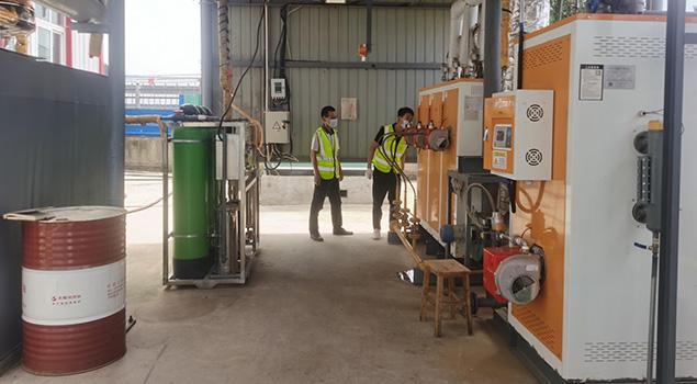 如何实现分段控制蒸汽发生器融化工业蜡原料?方法有两种