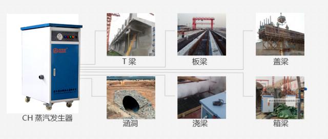 混泥土预制蒸汽解决方案,混凝土预制热能解决方案