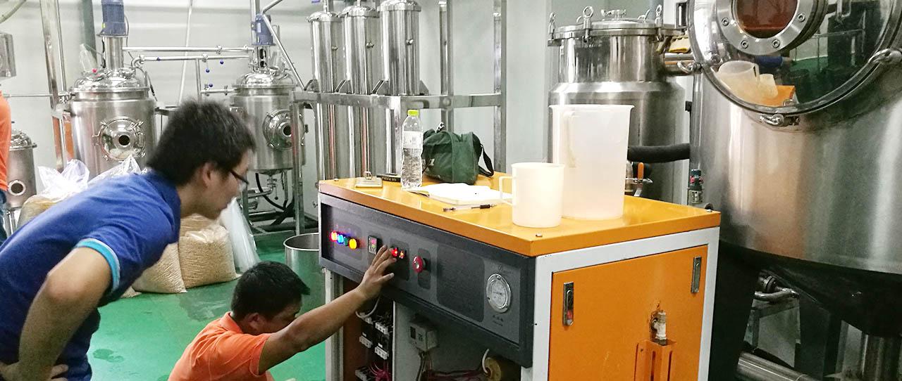 上海国宝提取实验室蒸汽热能解决方案